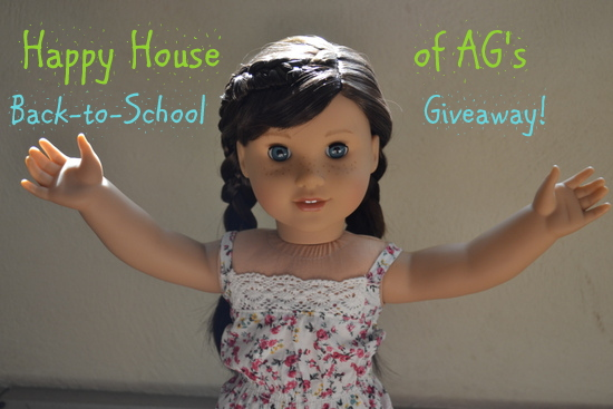 Happy House of AG's back-to-school giveaway