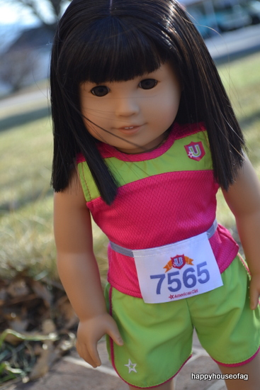 American Girl 2-in-1 Track Outfit
