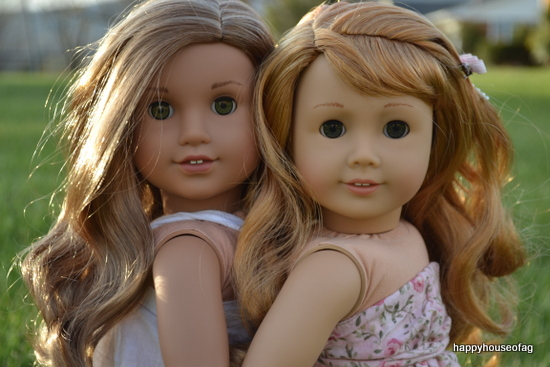 American Girl dolls Maryellen Larkin and Lea Clark | Happy House of AG
