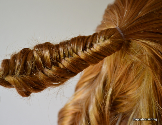 Half-Up Fishtail Hairstyle | Happy House of AG